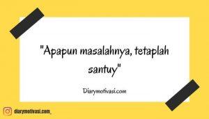 Kata Kata Santuy