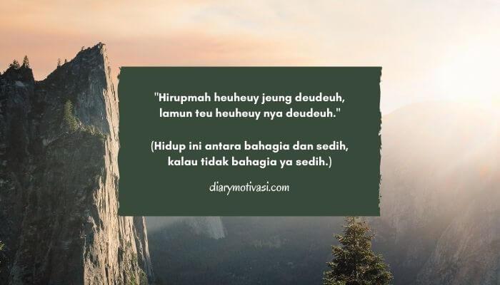 Kata Kata Bijak Bahasa Sunda Halus Beserta Artinya
